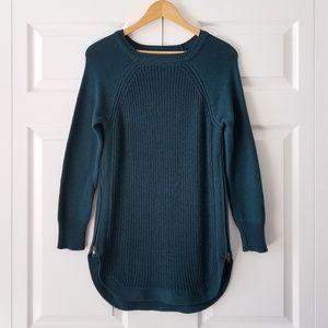 Stitch Fix RD Style Teal Knit Tunic Sweater | M